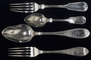 The silverware from the Monitor National Marine Sanctuary